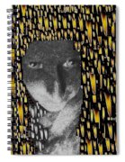 Woman In Flames Spiral Notebook