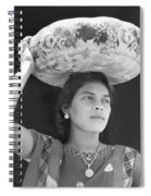 Woman In Tehuantepec, Mexico, 1929 Spiral Notebook
