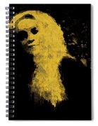 Woman In The Dark Spiral Notebook