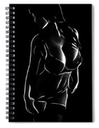 Woman In The Dark Spiral Notebook