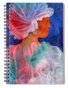 Woman In Turban Spiral Notebook