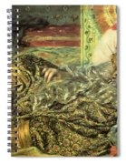 Woman Of Algiers Spiral Notebook