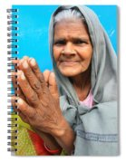 Woman Of India Spiral Notebook