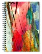 Woman Power Diptych 01 Spiral Notebook