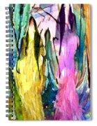 Woman Power Diptych 02 Spiral Notebook