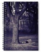 Woman Under A Tree Spiral Notebook