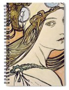 Woman With A Headscarf Spiral Notebook