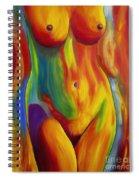 Woman3 Spiral Notebook