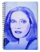 Womans Portrait  Spiral Notebook