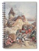 Women At The Siege Of Marseille Spiral Notebook
