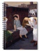Women Drying Their Hair 1912 Spiral Notebook
