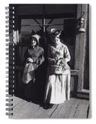 Women  Extras In Old West Costumes Dirty Dingus Magee Set Mescal Arizona 1970 Spiral Notebook