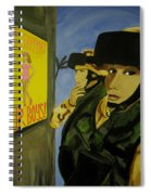 Women Warriors And The Pinup Spiral Notebook