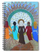 Women's Circle Mandala Spiral Notebook