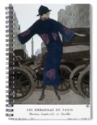Women's Fashion, 1920 Spiral Notebook