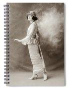Women's Fashion, C1910 Spiral Notebook