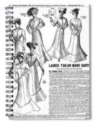 Women's Wear, 1902 Spiral Notebook