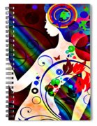 Wonder At The End Of The Rainbow Spiral Notebook