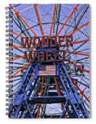 Wonder Wheel 2013 - Coney Island - Brooklyn - New York Spiral Notebook