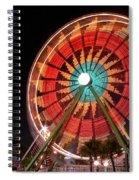Wonder Wheel - Slow Shutter Spiral Notebook