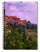 Wonderful Tuscany Spiral Notebook