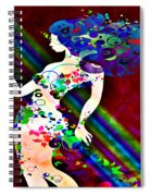 Wondering At The End Of The Rainbow Spiral Notebook