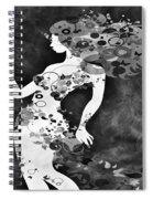 Wondering Bw Spiral Notebook