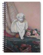 Wondering Cupid Spiral Notebook