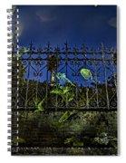 Wonderland-1 Spiral Notebook