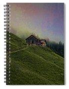 Wonderland-2 Spiral Notebook