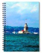 Wonders Of Istanbul Spiral Notebook