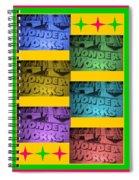 Wonderworks  Spiral Notebook