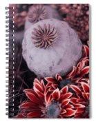Wonderworld Of Flowers Spiral Notebook