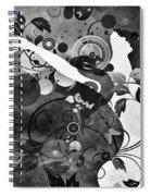 Wondrous Bw Spiral Notebook
