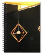 Wood And Rock In Motion I Spiral Notebook