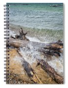Wood And Water Spiral Notebook