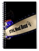 Wood Boss Spiral Notebook