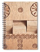 Wood Carving Spiral Notebook