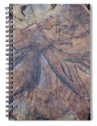 Wood Design Spiral Notebook