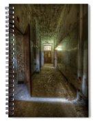 Wood Door Ward Spiral Notebook