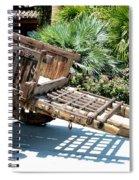 Wood Hand Cart II Spiral Notebook