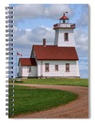 Wood Islands Lighthouse - Pei Spiral Notebook