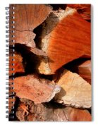Wood Puzzle Spiral Notebook