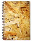 Wood Splinters Background Spiral Notebook