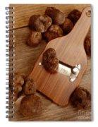 Wood Truffle Slicer Spiral Notebook