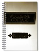 Woodbine Cottage - In Bakewell Town Peak District - England Spiral Notebook