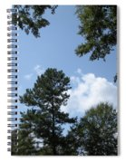 Wooded Forest  Spiral Notebook