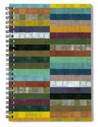 Wooden Abstract Lx Spiral Notebook