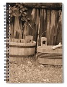 Wooden Buckets Spiral Notebook