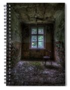Wooden Chair Room Spiral Notebook